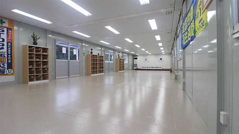 株式会社大平組 大会議場内部